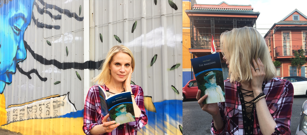 Reading The Awakening by Kate Chopin in New Orleans